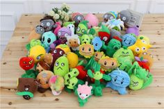 New-Plants-vs-Zombies-Stuffed-Characters-XMAS-Gift-Doll-Figure-Toy-Plush
