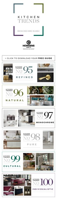 Explore the latest kitchen trends of 2018 and discover how to bring them to life in your own home.