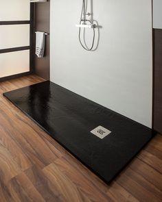 Plato de ducha negro