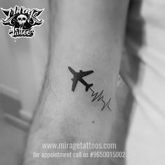 Mirage Tattoos, Tattoo Shop in Delhi and piercing studio in Dwarka, Delhi. Get best tattoo artist in Delhi for body piercing and tattoo training Mini Tattoos, Body Tattoos, Small Tattoos, Sleeve Tattoos, Tattoos For Guys, Aviation Tattoo, Pilot Tattoo, Shiva Tattoo Design, Airplane Tattoos