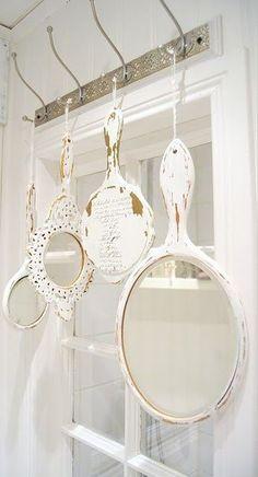 Decoração com espelhos - mais ideias em http://nathaliakalil.com.br