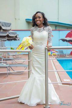 Nigerian bride featured on http://www.weddingfeferity.com/nigerian-brides-pictures/