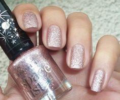 Space Dust - 003 Aurora #peach #Nails #polish - bellashoot.com