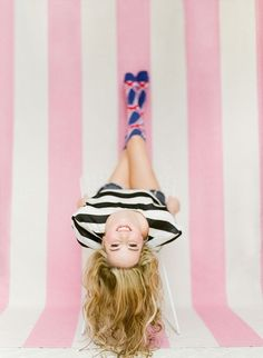 Hang out upside down. | 47 Brilliant Tips To Getting An Amazing Senior Portrait