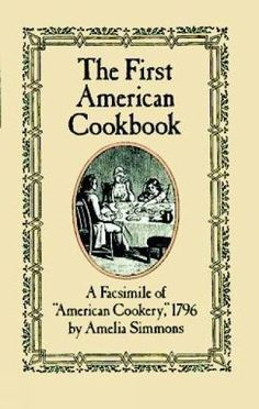 3/13/2017 -- The First American Cookbook', only $3.05 on Amazon!