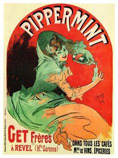Jules Chéret, Publicidade para Pippermint 1896