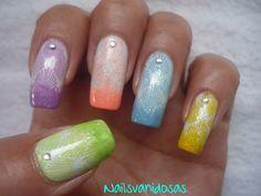 De: Nailsvanidosas #nails #nailart #nailartdesigns #diseñodeuñas