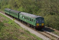 DMU En Route to Yeovil Pen Mill.