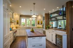 Bow to the Trees in Menlo Park Makeover - traditional - Kitchen - San Francisco - Hamilton-Gray Design, Inc.