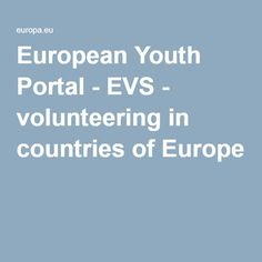European Youth Portal - EVS - volunteering in countries of Europe