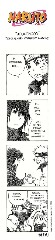 Naruto Doujinshi - Adulthood by SmartChocoBear on deviantART