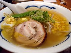 Japanese Food Recipes: Shio Ramen Recipe