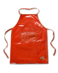 Kids BBQ/Art Apron - PVC with Cotton backing. Personalized with Logo Custom Made-to-Order, any color Minimum Order Required Eugenia Kids Collection - Austin, Texas