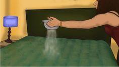 Žena posype matrac jedlou sódou! Geniálny trik na vyčistenie starého matraca! Vyzerá ako nový!