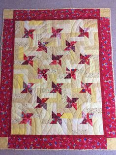 Quilt made for Project Linus using pattern Twinkle by Kim Brackett