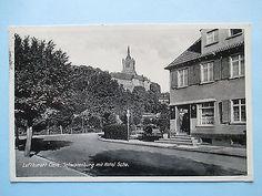 AK --- Kleve / Cleve --- Hotel Scho mit Blick zur Schwanenburg,1941
