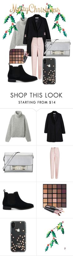 """""""New Year"""" by explorer-14858615073 on Polyvore featuring мода, MANGO, Proenza Schouler, Joseph, TOMS и Kate Spade"""
