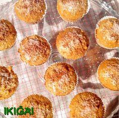 Muffins de cenoura com maça