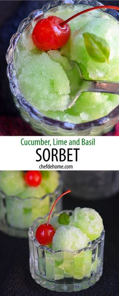 Lime Sorbet on Pinterest | Sorbet, Tequila and Watermelon Lime Sorbet ...