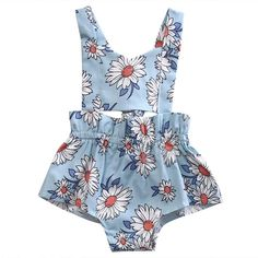 Sunflower Kiss Romper  Soft and Comfortable Baby & Toddler Clothing! #genderneutralbabyclothes