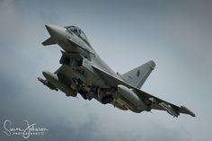 """ Italian Flair "" - Italian Airforce Ef-2000 Eurofighter, Tactical Weapons Meet , Florennes AFB, Belgium."