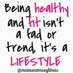 """""""True story! The only way to get real, lasting results is to make health and fitness a LIFESTYLE. Regular exercise and clean, healthy eating is not something you can do occasionally, or for a set amount of time. It is a complete way of life. This is why diets fail...they imply a start and an end date, rather than a lifestyle change. Make it a lifestyle! """" Photo taken by @maleaandersonfitness on Instagram, pinned via the InstaPin iOS App! http://www.instapinapp.com (10/12/2014)"""