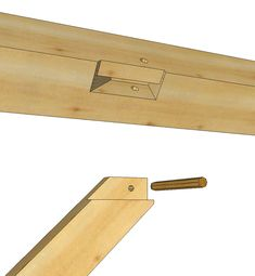 """Knee Brace Tenon and Mortise 2"""" Layout - Timber Frame HQ"""
