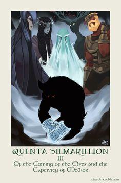 """""""Dresden Codak"""" Illustrator Turns His Talents to """"The Silmarillion"""""""
