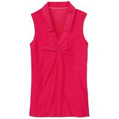 Wick-It™ Golf Tank - The cutest sleeveless polo in our lightweight, über-breathable Wick-It™ fabric.