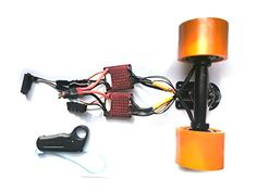 Nucbot DIY boosted electric board dual hub motor drive kit 1800W each N6364 ESC  remote controller kitsl Orange -- For more information, visit image link. Note: It's an affiliate link to Amazon