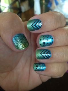 Jamberry wraps. Atlantis with celeb status over it. If u want to order or see more go to www.jenkeshick.jamberrynails.net