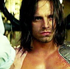 Poor Bucky half of him is upset, and half of him is so done