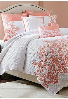 Fetching Remodel bedroom into closet,Small bedroom remodel space saving and Master bedroom remodel ikea hacks. Coral Bedding, Coral Bedroom, Bedroom Bed, Home Decor Bedroom, Master Bedroom, Bedrooms, Modern Bedroom, Kids Bedroom, Bedroom Furniture