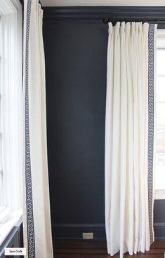 Lynn Chalk - The 50 Best Etsy Shops For Home Furnishings   Laurel Home - lovely trimmed draperies