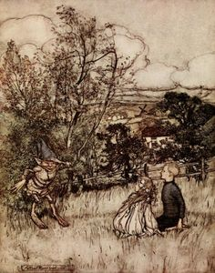 Arthur Rackham Puck of Pook's Hill 1906