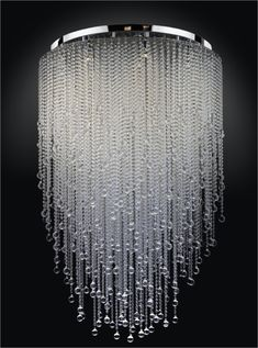 Large crystal chandeliers photo - 6