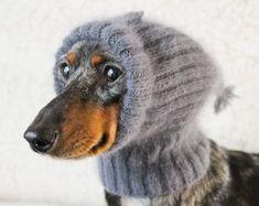 Dog Beanie, Dachshunds, Marcel, Knits, Knit Crochet, Owl, Etsy, Bikini, Bird