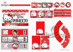 Odesigns Studio: Hello Kitty Party Set