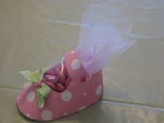Baby Shower paper shoe (favor, cup)