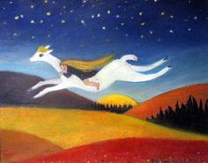 Oil painting by Ritva Tienaho