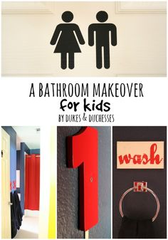 a bathroom makeover for kids