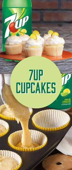 Pour your 7UP® into a cup...cake! #7UPupgrade #contest Please Drink Responsibly. Must be 21+