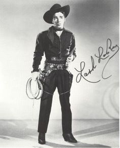 "Alfred ""Lash"" LaRue (June 15, 1917 –May 21, 1996) was a popular western motion picture star of the 1940s and 1950s. He had exceptional skill with the Bull whip and taught Harrison Ford how to use the bullwhip in the Indiana Jones movies."