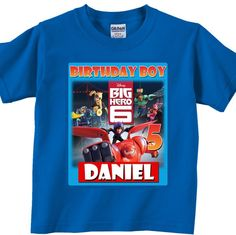Guardians of the Galaxy Birthday Party Shirt Kendrick 5