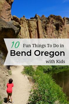 10 fun things to do with kids in Bend Oregon. This list is created with parents in mind, so you'll find something everyone will enjoy in Bend. Be sure to wind down the day at a local brewery! Oregon Vacation, Oregon Road Trip, Bend, Oregon Travel, Oregon Coast, Vacation Trips, Travel Usa, Central Oregon, Vacation Ideas