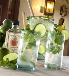 """Columbia Restaurant Mojito ~ I go to this restaurant when I visit my family in Florida, the food is DeLish and the Mojito's are """"Oh So Good!"""""""