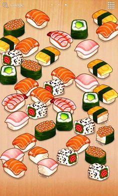 Collection of Sushi  art