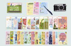 Milestones: las tarjetas más divertidas para fotografiar