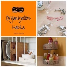 The New Year is the perfect time to tackle your organization goals! These 25 organizing hacks will maximize your space and provide you a sense of order!