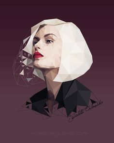 low poly by on DeviantArt Pose Portrait, Vector Portrait, Digital Portrait, Digital Art, Portraits, Illustration Art Nouveau, Digital Illustration, Art Illustrations, Low Poly